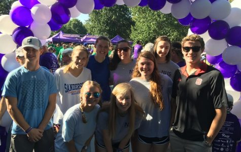 Sanderson NHS participated in the Walk to End Alzheimer's at the North Carolina Museum of Art on September 18, 2017.
