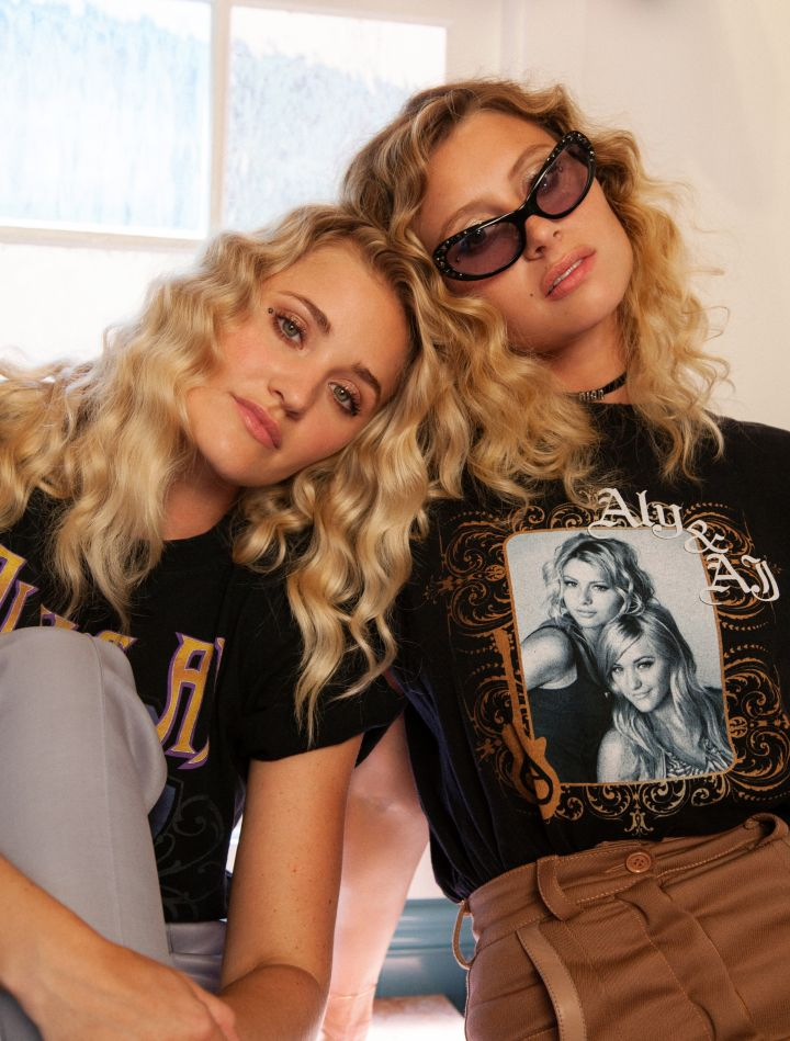 "Aly & AJ's new single ""Take Me"" is streaming now on SoundCloud, YouTube, and Spotify and is available for purchase on all major music platforms."