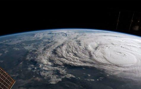 NASA satellite image shows the immensity of Hurricane Irma in early September.