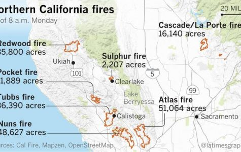 Firefighters have contained the majority of the largest blazes in Northern California.