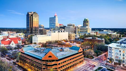 Raleigh is one of 20 cities that are in the running for Amazon's second headquarters.