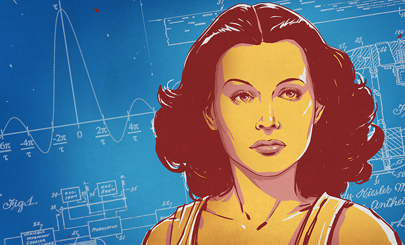 Without the work of actress, scientist, and mathematician Hedy Lamarr, the Wi-Fi you're probably using to read this wouldn't exist.