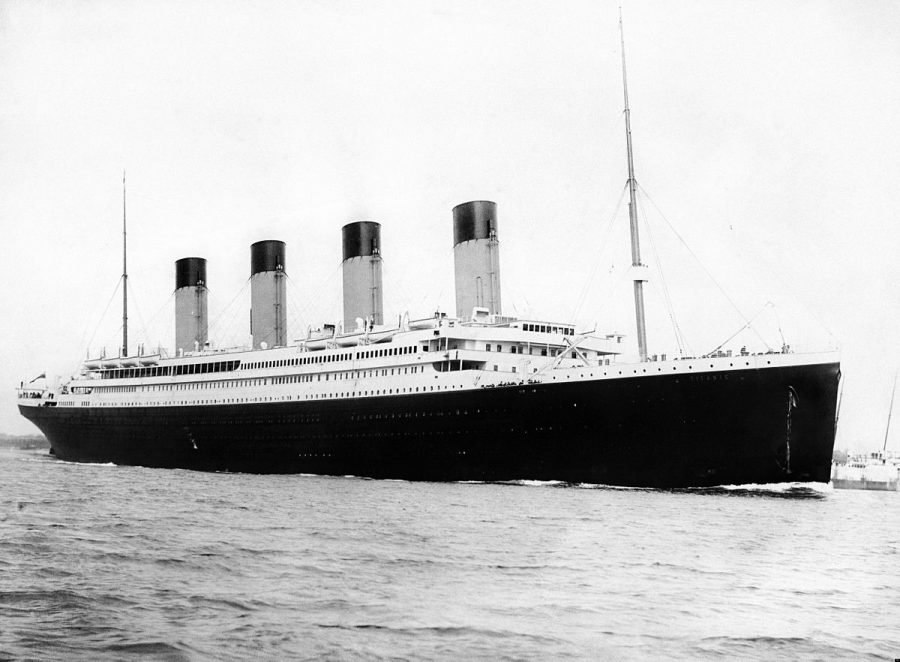 Titanic II makes a splash
