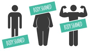 Body-shaming should not exist.