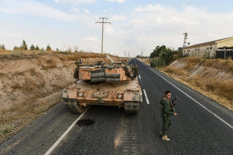 Turkey invades Northern Syria