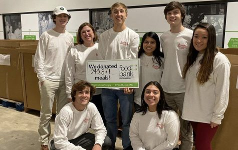 Sanderson donated 243,871 meals to the Food Bank of Central and Eastern NC this year.