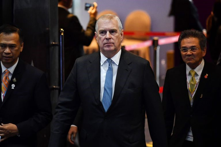 Prince Andrew resigned from his royal duties.
