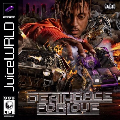 The latest and last album cover Juice WRLD released before death.