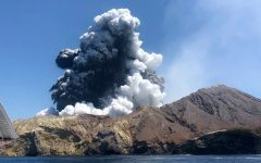 Volcano Erupts in New Zealand