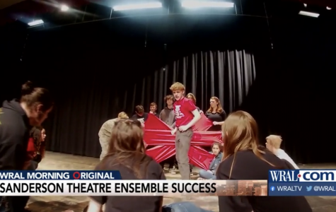 Sanderson's Theatre Ensemble has been recognized by local news station WRAL for their accomplishments.