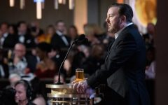 Ricky Gervais hosts the 77th Golden Globes.