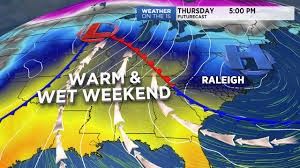A warm front is expected in the Triangle this weekend.