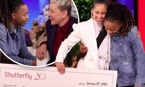 Ellen Degeneres puts a smile on DeAndre Anrold's face with 20 grand for college tuition.