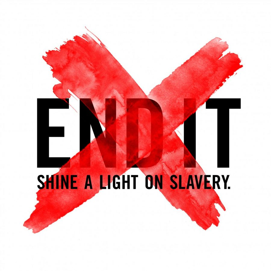 Sanderson students are raising awareness against modern-day slavery by participating in the End It movement.