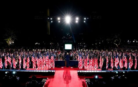 Trump delivers his nomination acceptance speech.