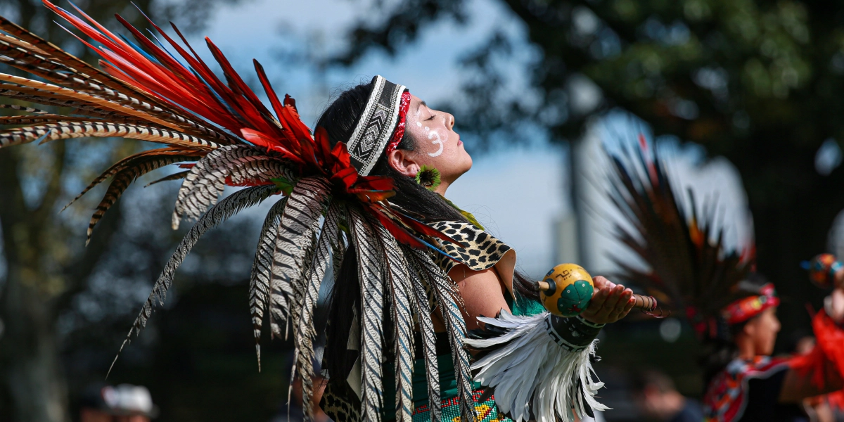 Indigenous People's day is celebrated Monday October 12.