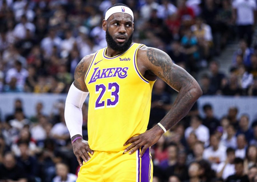 Lebron James spurs controversy