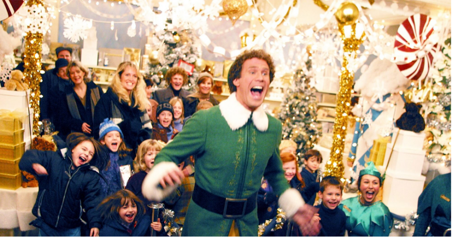 The popular Christmas movie Elf starring Will Farrell
