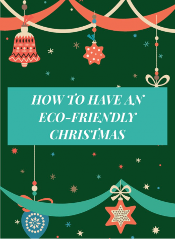 It is important to stay eco-friendly this holiday season.
