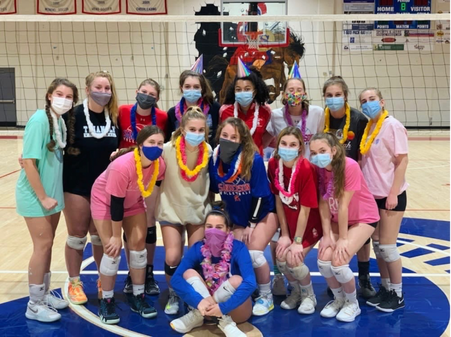 Sanderson's 2020 Varsity Volleyball Team