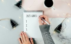 Writing out specific goals or resolutions for the New Year can help yo to keep them.