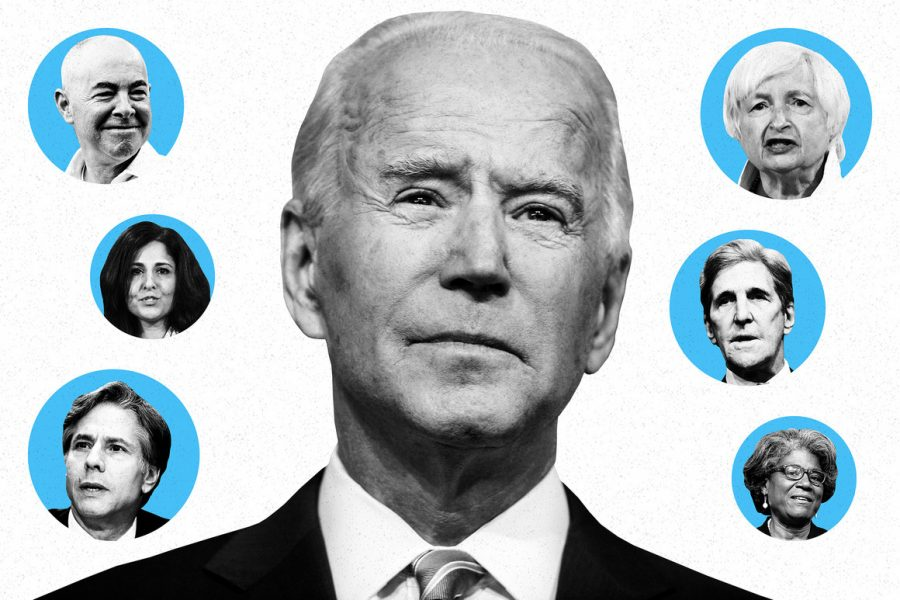 Biden selects the most diverse cabinet ever.
