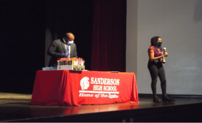 Chalina Morgan-Lopez Speaks at Fall Equity Team Awards