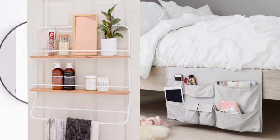 These storage hacks will have your dorm organized.