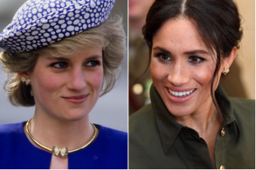 The similarities between Meghan Markle and her late mother-in-law are undeniable.