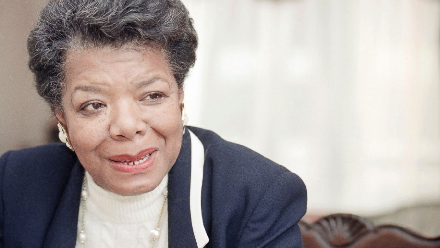 A picture of famous poet Maya Angelou.