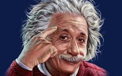 Albert Einstein is considered one of the smartest men ever.