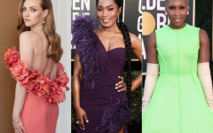 Celebrities serve questionable looks for the Golden Globes.