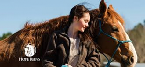 Hope Reins pairs kids experiencing crisis with trained mentors and rescued horses.