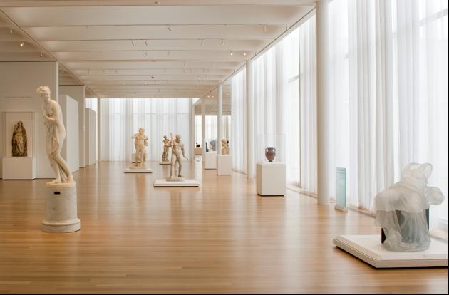 The North Carolina Museum of Art exhibit