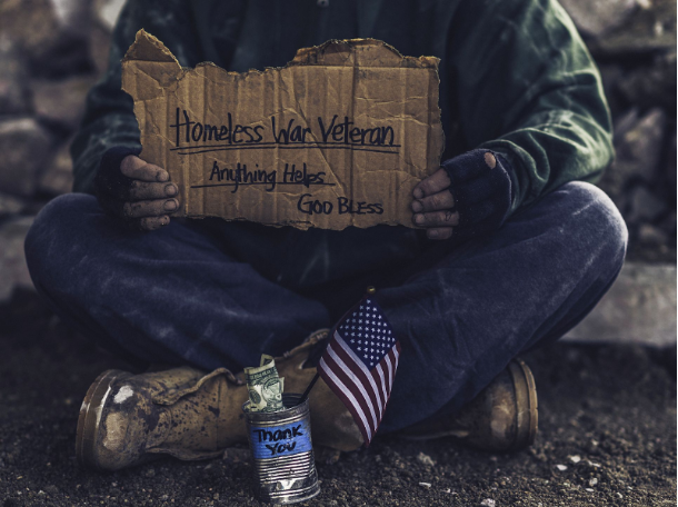 Many veterans come home from their service and are left without the resources they need