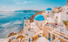 Caption: Let's take a closer look at a trilogy of Greek Isles and their Aegean quaintness.